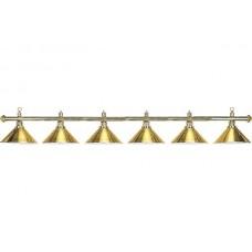 Lamp Elegance, brass, 6 Bells